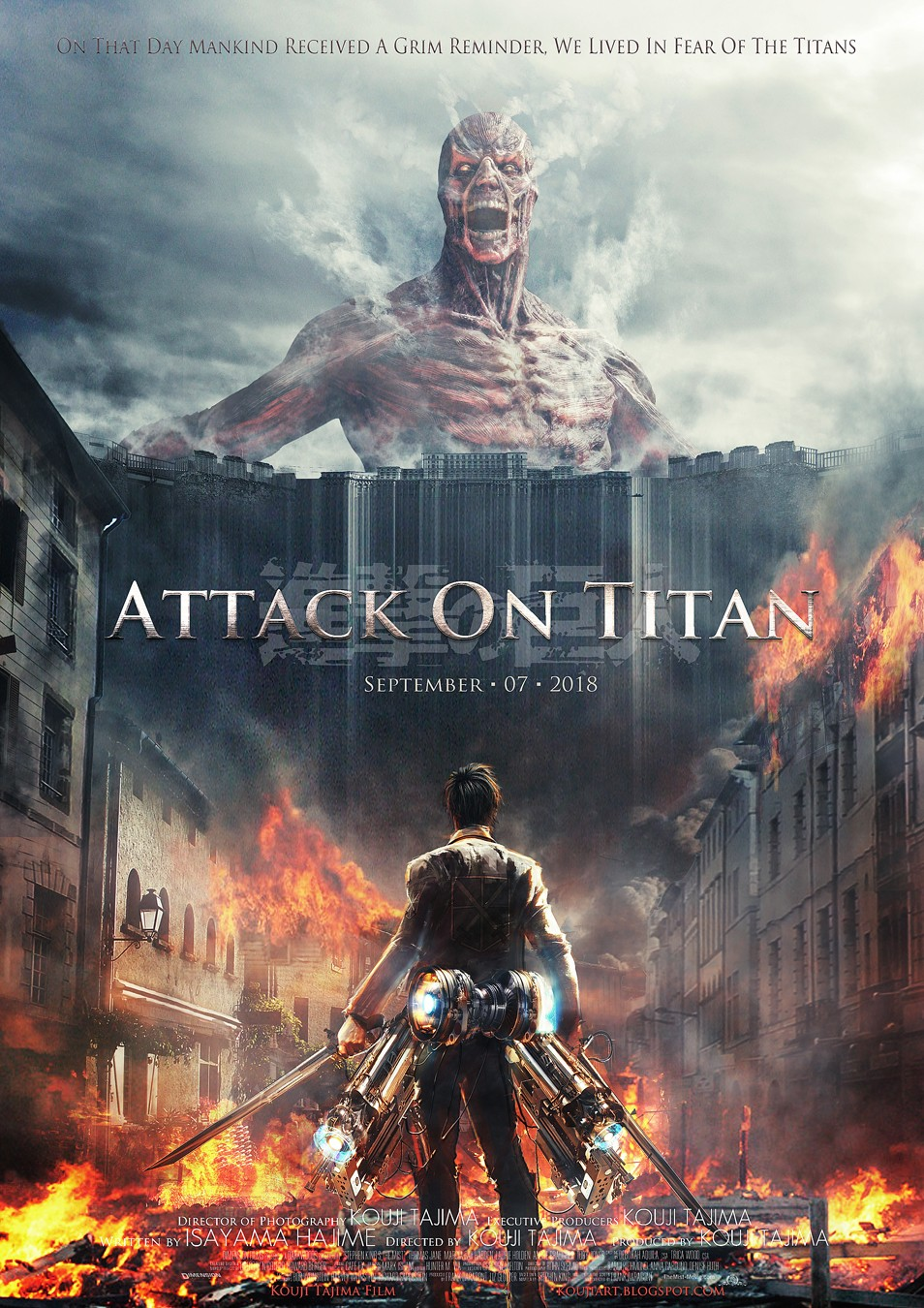 Live Action Version Of Attack On Titan Packs A Punch | attack on titan