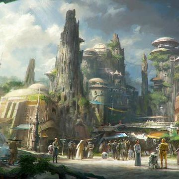 Disney Reveals Plans For Star Wars Theme Park | Star Wars