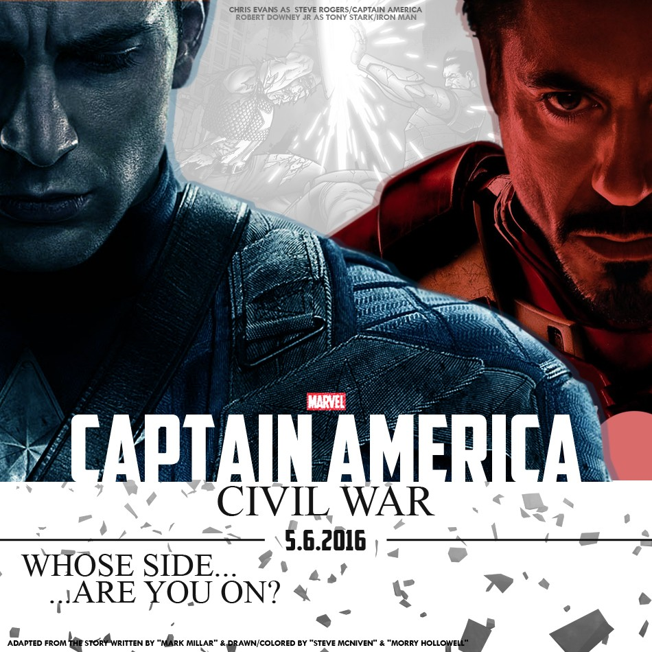 Captain America: Civil War Footage Shown At D23 | Civil War