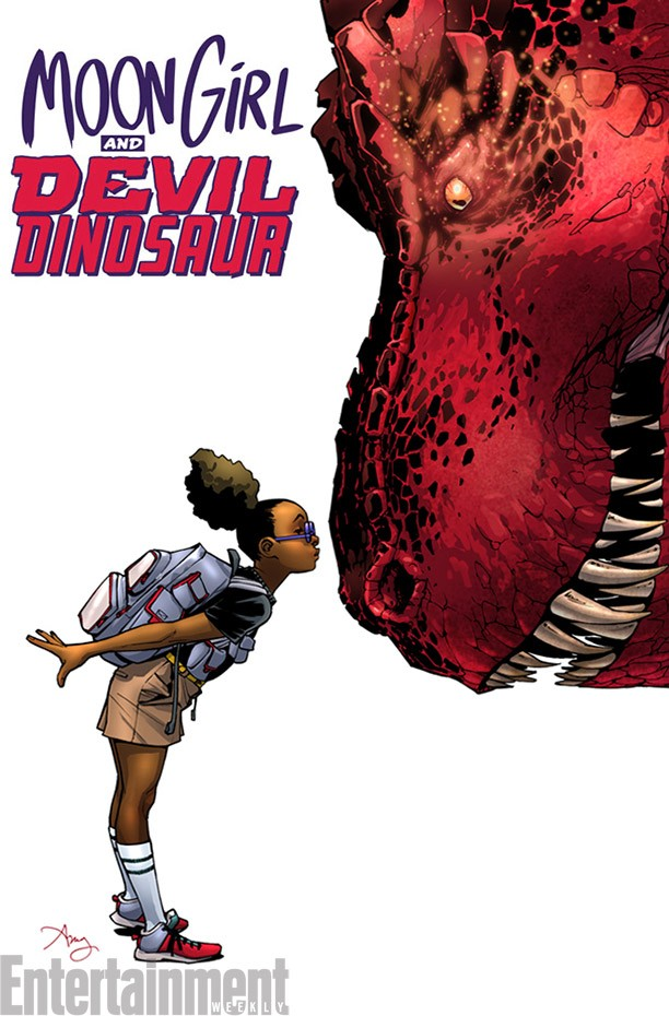 Marvel's Newest Superheroes Are A Little Girl and a Dinosaur | Newest