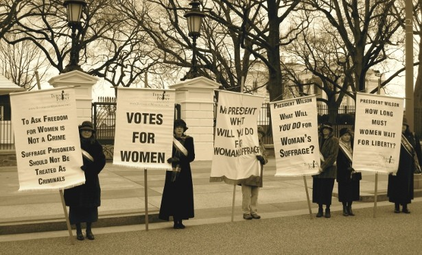 Woman's Suffrage Ratification Celebrates 95th Anniversary