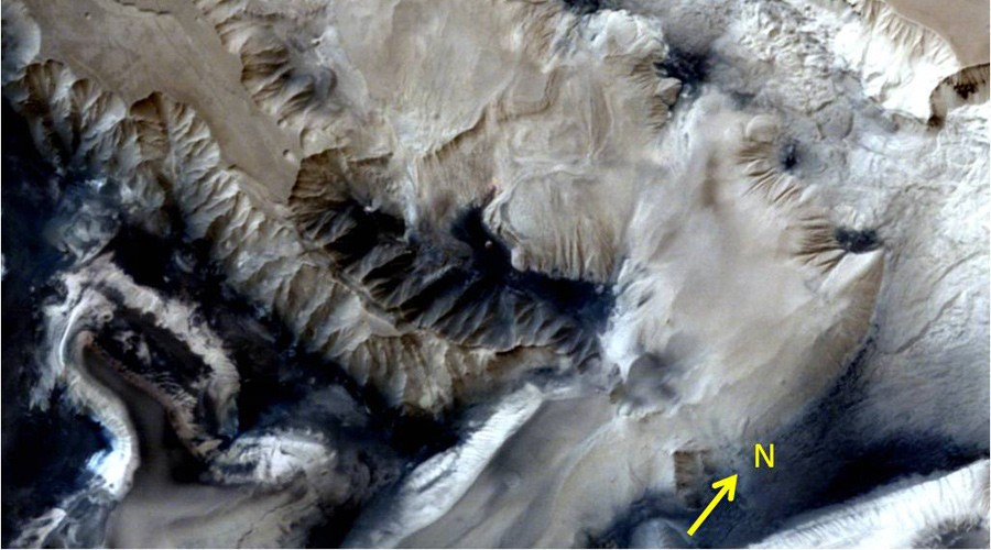 India's Mars Orbiter Captures Stunning Image Of Huge Canyon On Mars | Mars