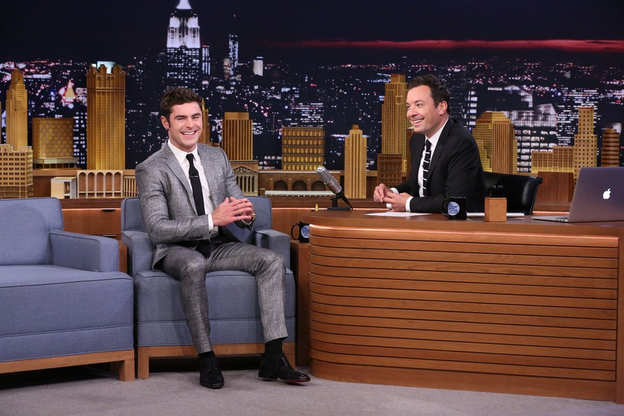 Zac Efron And Jimmy Fallon Play Russian Roulette… With Raw Eggs | Zac Efron