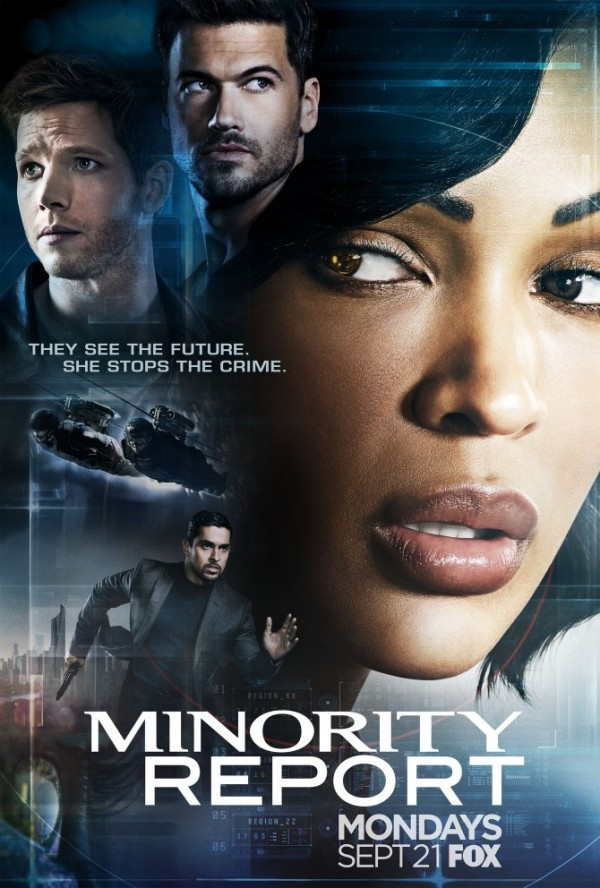 Here's A First Look At The Minority Report Series | Minority Report