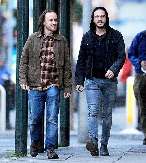 Kit Harington's Double Spotted In Belfast During Game Of Thrones Filming | Kit Harington