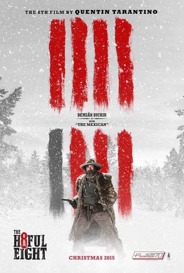 Tarantino's The Hateful Eight Gets Six New Posters | the hateful eight