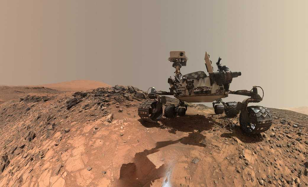 NASA's Mars Rover Takes Incredible Selfie | Mars Rover