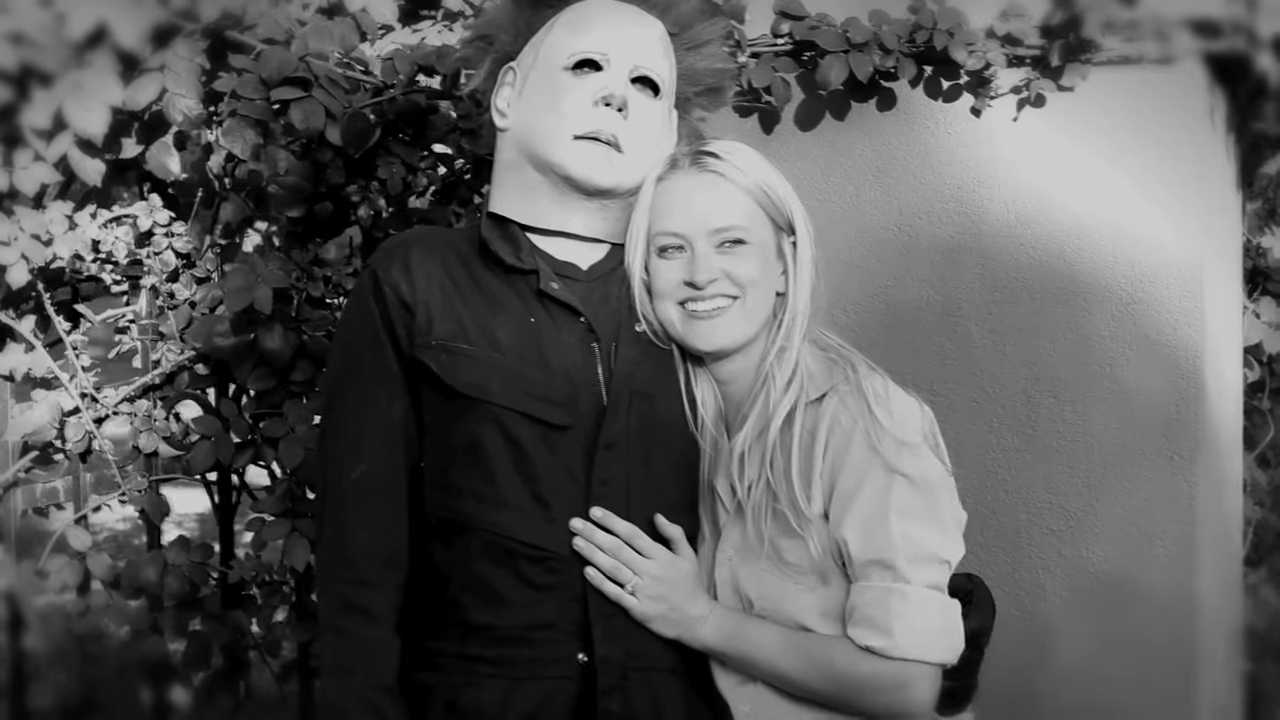 Man Stages Freaky 'Halloween' Themed Proposal | Halloween