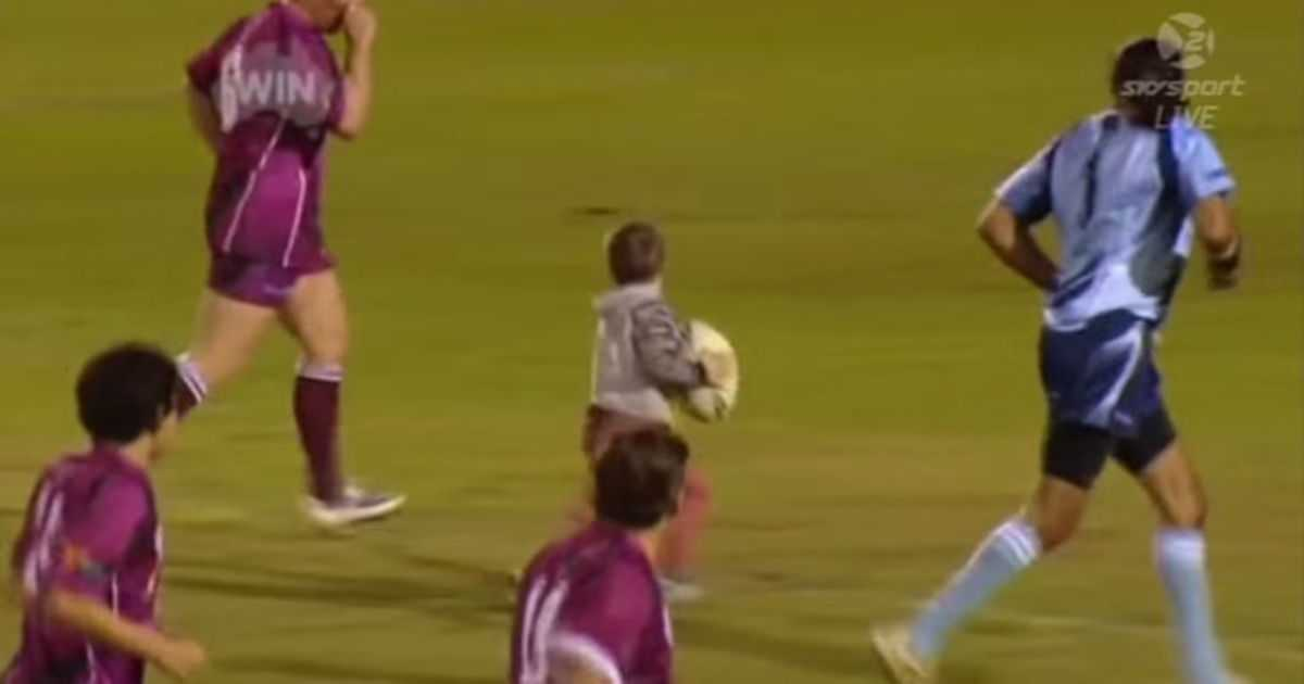 This Cute 4 Year Old Is The Undisputed King Of Impromptu Rugby   rugby