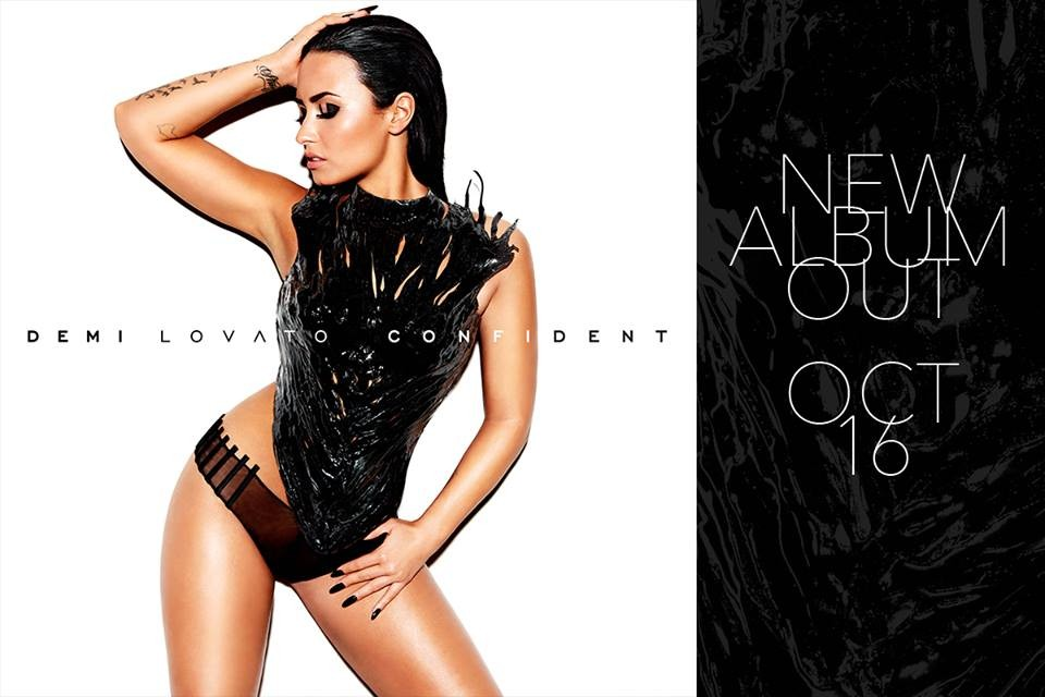 Demi Lovato Reveals Sizzling Cover Art And Track List For New Album 'Confident' | demi