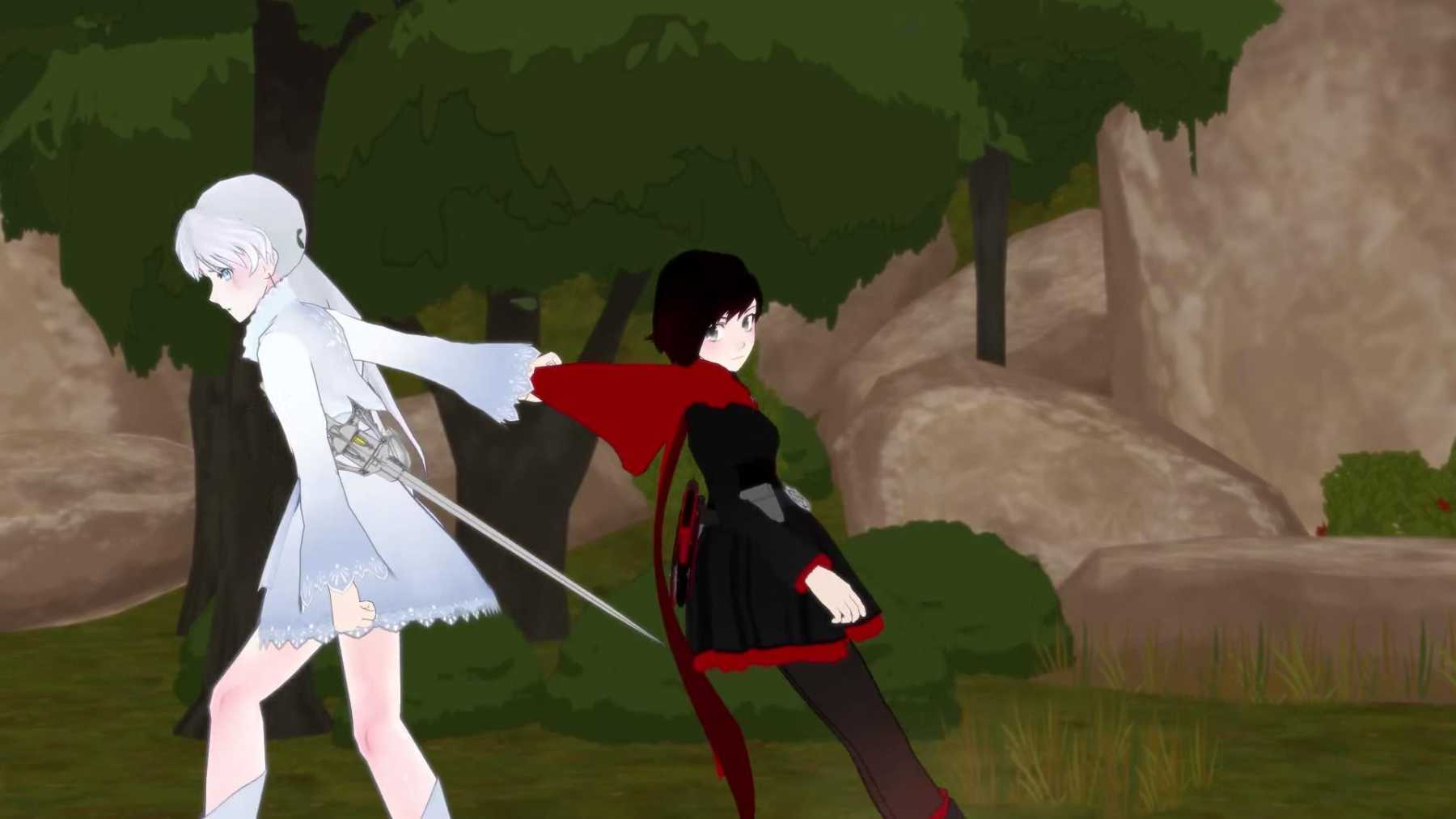RWBY RECP: 01x05, The First Step Pt. 2 | the first step
