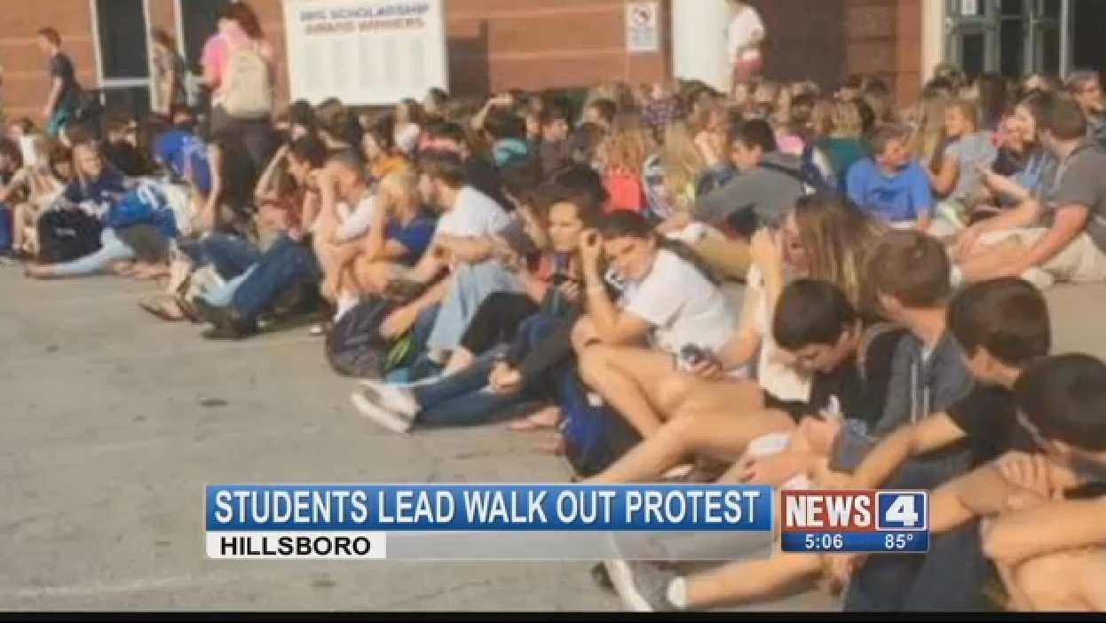 Protest At Missouri High School Due To Transgender Girl Using Women's Locker Room   transgender