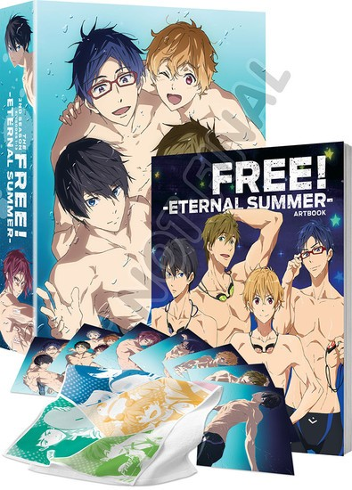 FUNimation Delays DVD Release Of 'Free! Eternal Summer' | Eternal Summer