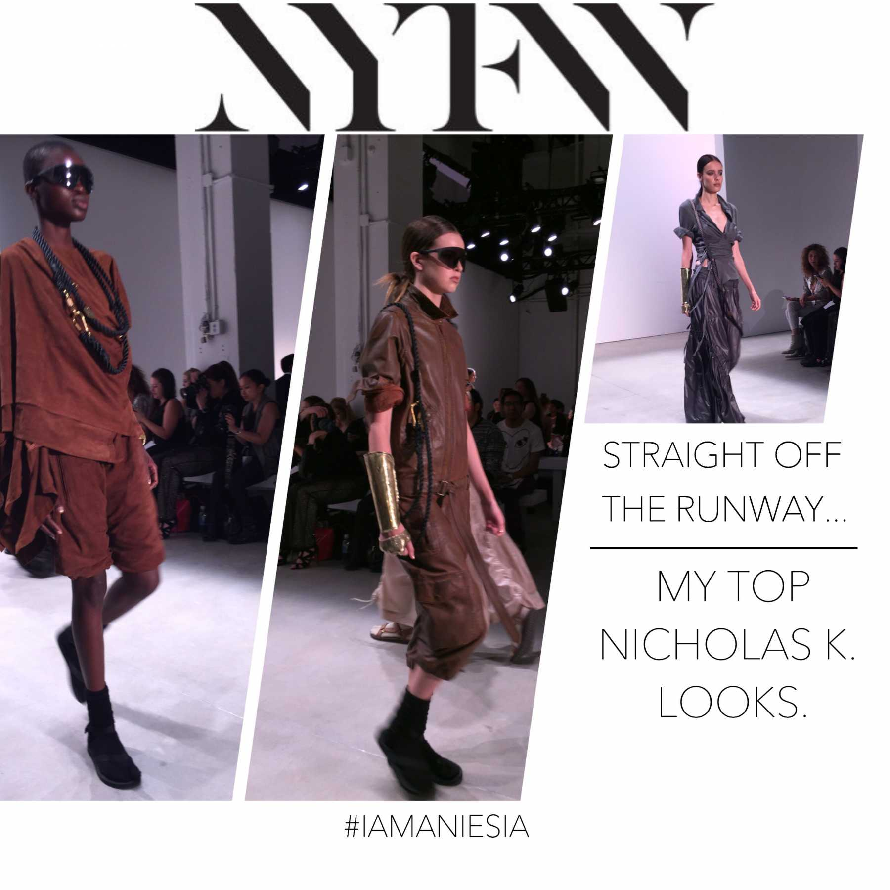 NYFW Daily Roundup: Top Looks From Daniel Silverstain And More | NYFW