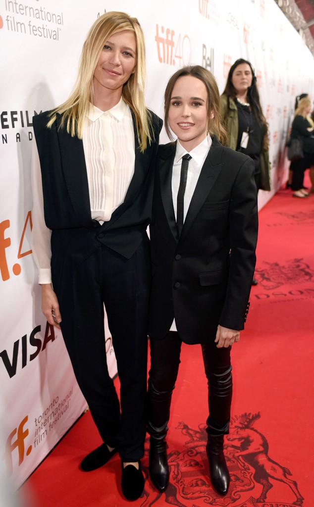 Ellen Page Walks Freeheld Red Carpet With Girlfriend Samantha Thomas | Freeheld