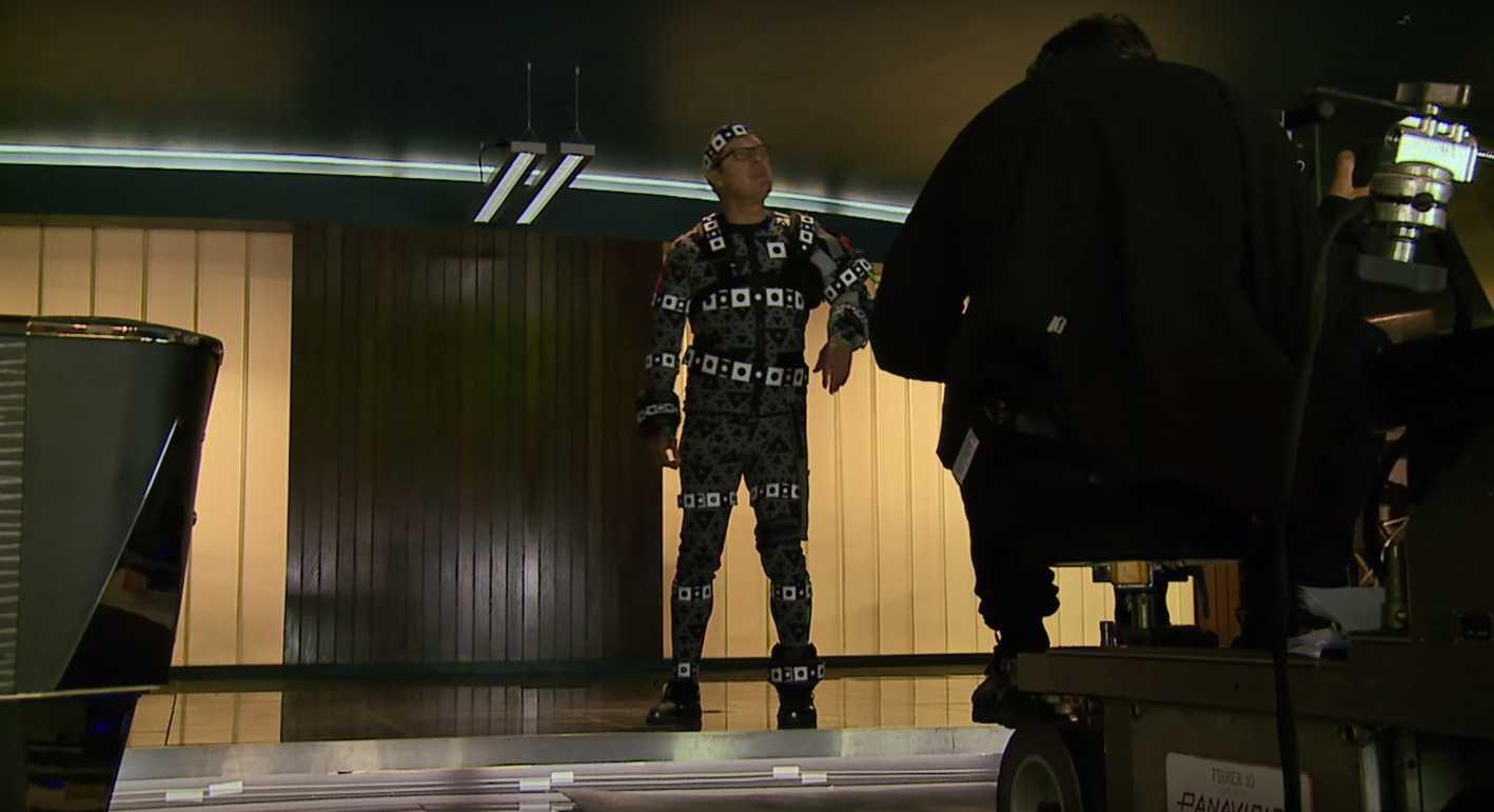 James Spader Rocks Motion Capture In 'Age Of Ultron' Behind The Scenes Footage | James Spader