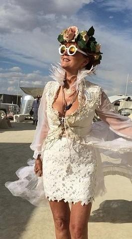 Susan Sarandon Brings Timothy Leary's Ashes To Burning Man | Susan Sarandon