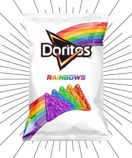 Rainbow Doritos Prove It Gets Better, Proceeds To Help End LGBT Suicide | rainbow doritos