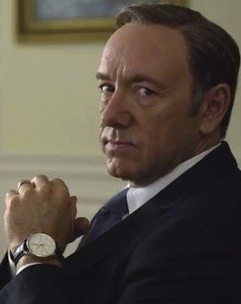 Kevin Spacey Reveals Who Frank Underwood Is Talking To Off-Screen | Underwood