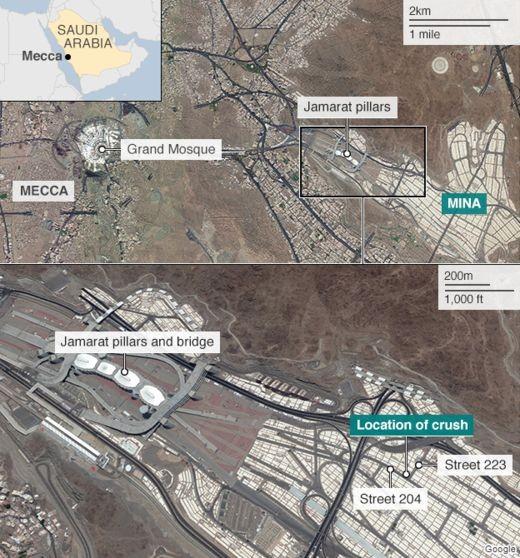 Hundreds Of Hajj Pilgrims Killed In Stampede Near Mecca | Hajj