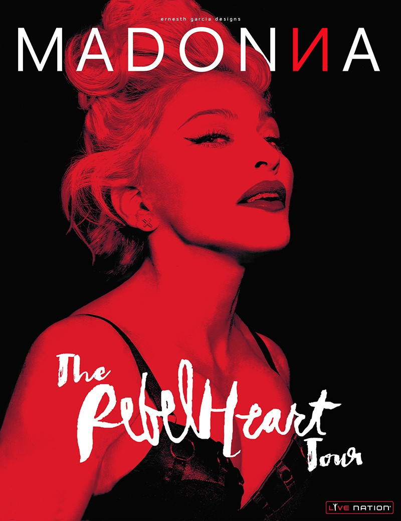 Madonna Slapped Anderson Cooper's Ass On Rebel Heart Tour! | Rebel