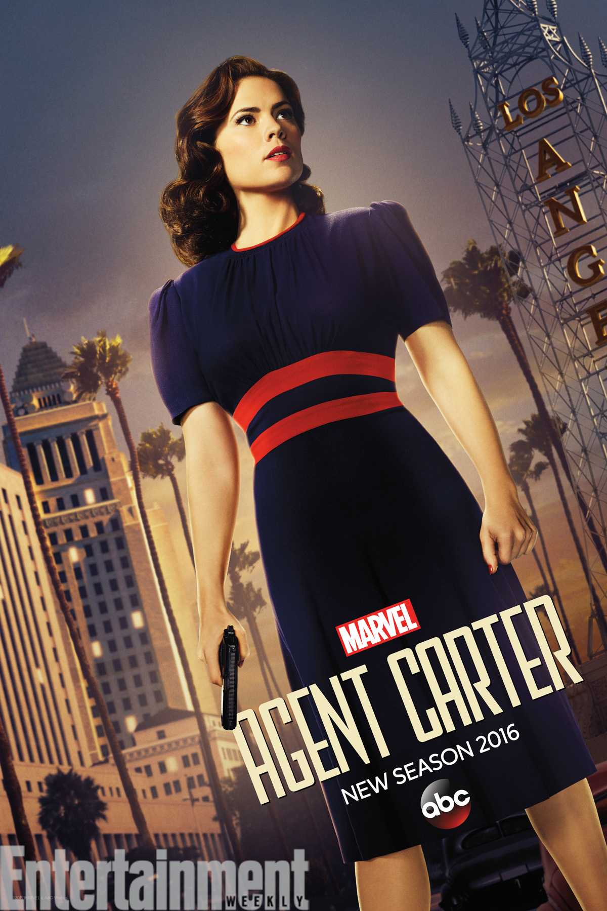 'Agent Carter' Debuts New Look In New Teaser Poster | Agent Carter