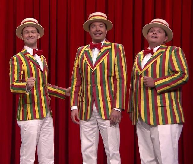 Joseph Gordon-Levitt Joins Fallon For Some Ragtime Delight | Joseph Gordon-Levitt