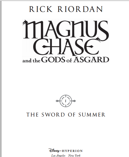 Read The First Five Chapters Of Rick Riordan's Magnus Chase Now! | Magnus Chase