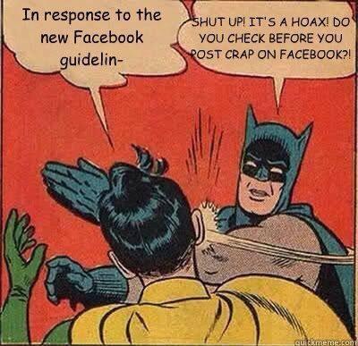Stop Falling For Facebook Hoaxes | Facebook