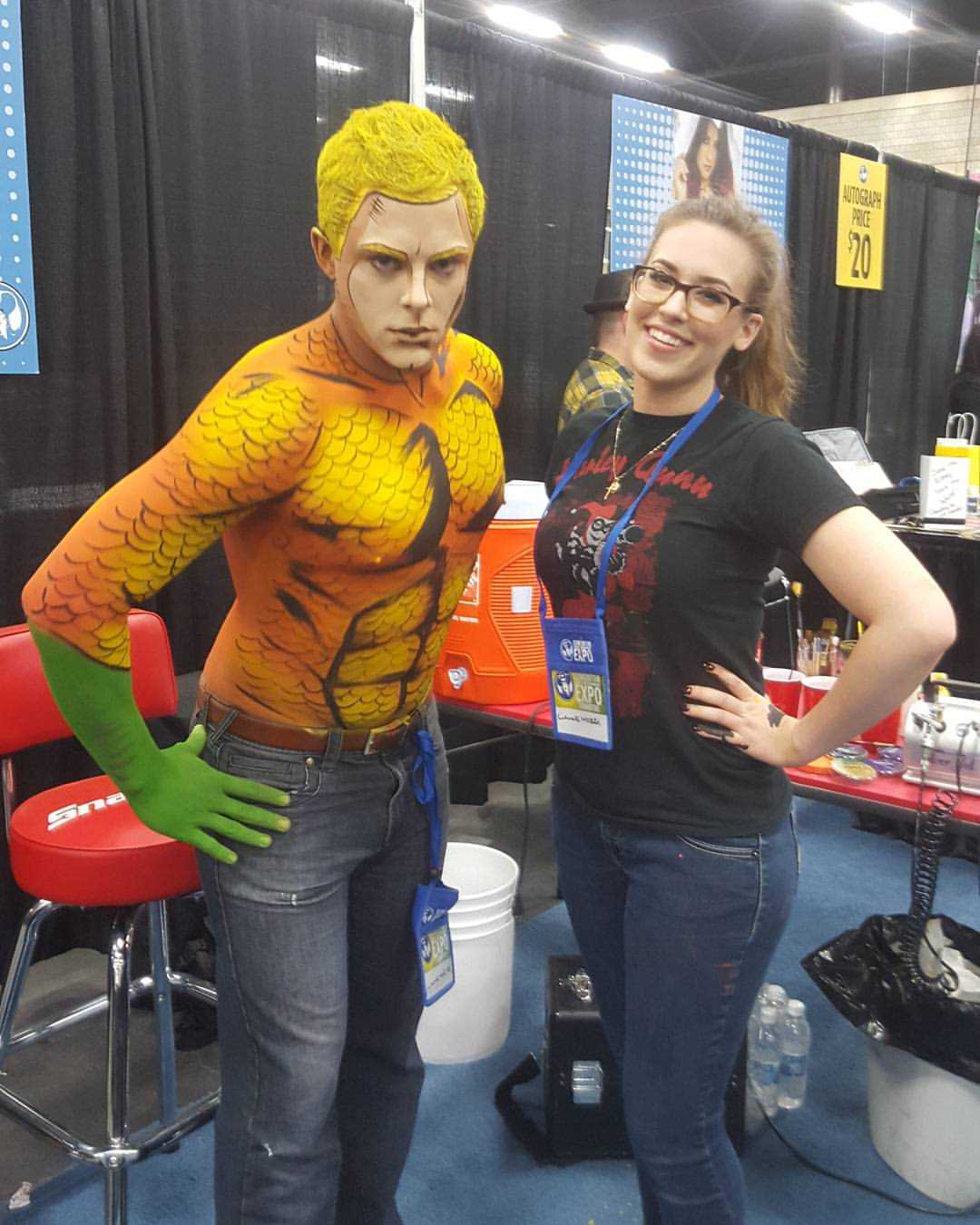 Make-Up Artist Turns People Into Comic Characters | make-up artist
