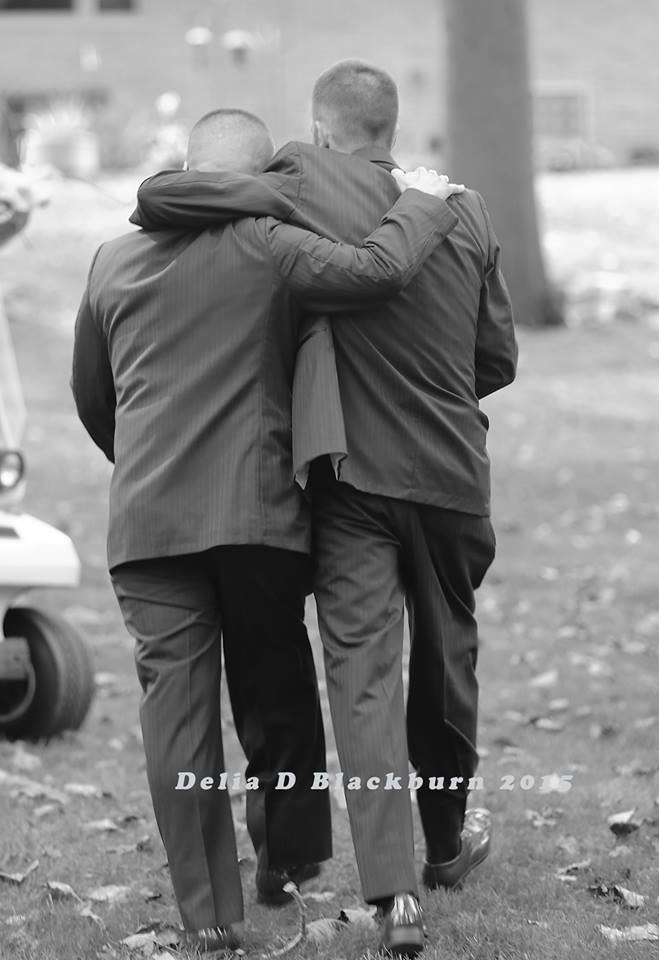We're Not Crying, You Are: Man Shares Father Of The Bride Honor With Stepdad   father of the bride