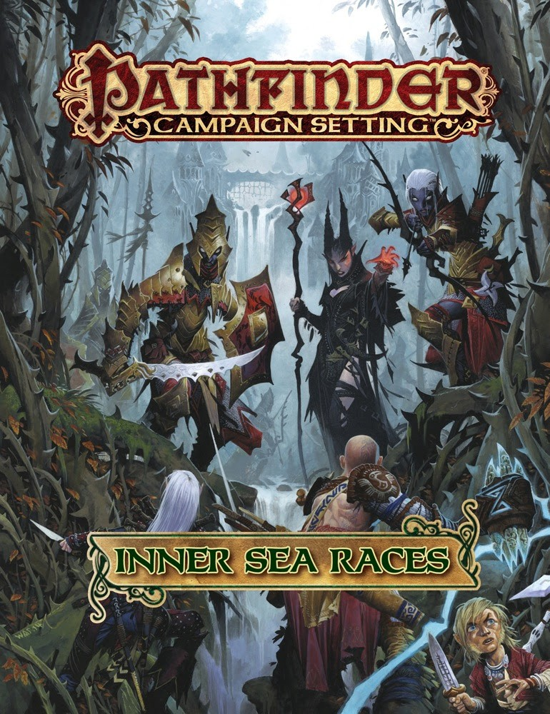 Explore Your Roots With Pathfinder's New Inner Sea Races Hardcover | inner sea races