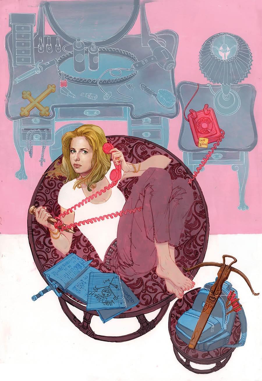 Dark Horse Announces Buffy The Highschool Years At NYCC | Buffy