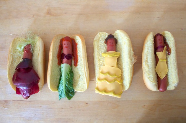 Disney Princesses Take A Different Form As Hot Dogs   Disney