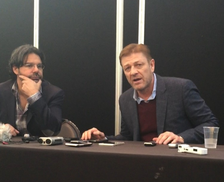 Sean Bean Discusses Revamped Season 2 Of TNT's Legends | Sean Bean