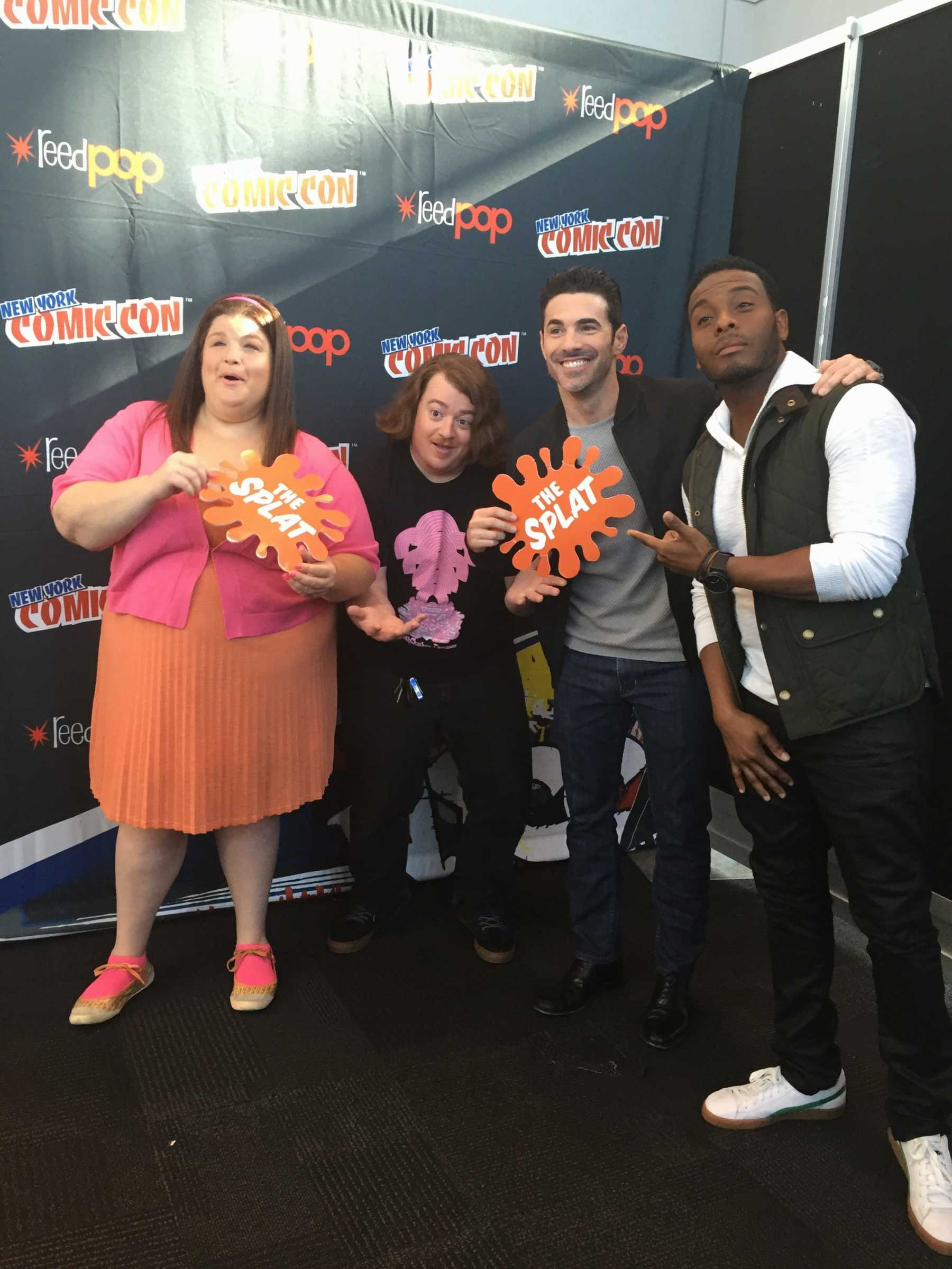 Aww Here It Goes! 'All That' Gets Nostalgic At NYCC For The Splat | All That