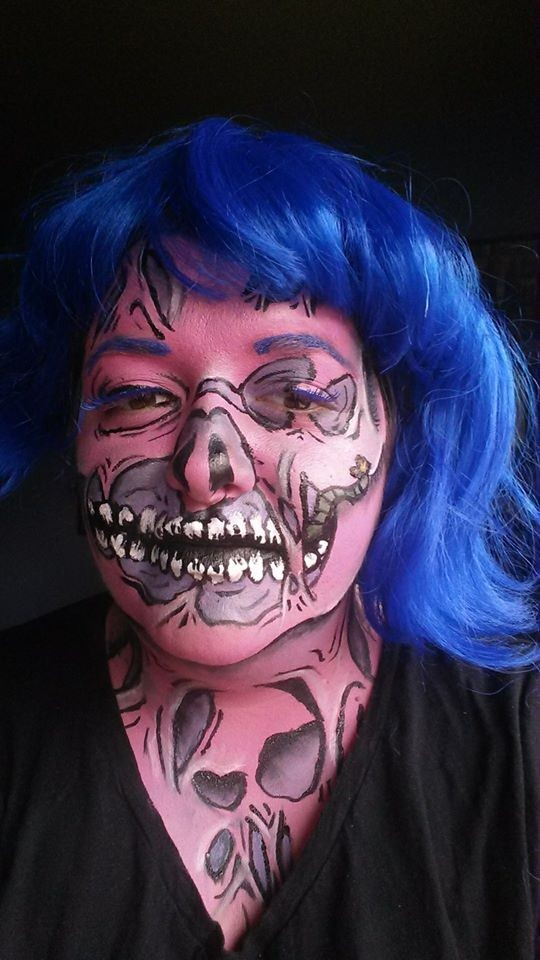 Popaween: Popart Zombie Tutorial To Bring Your Halloween Makeup A-Game | Popart Zombie