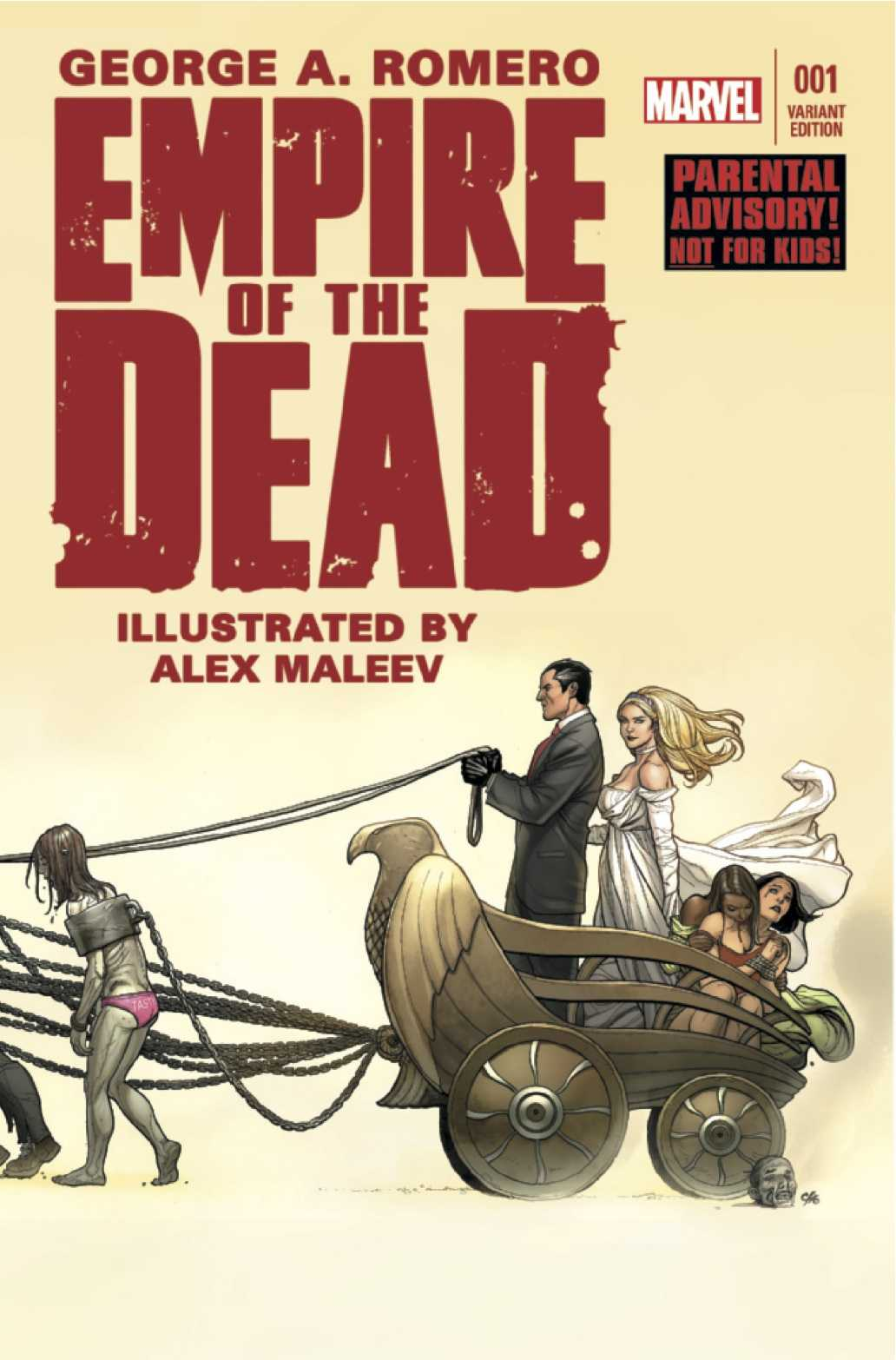AMC Greenlights 'Empire Of The Dead' Television Adaptation | Empire Of The Dead