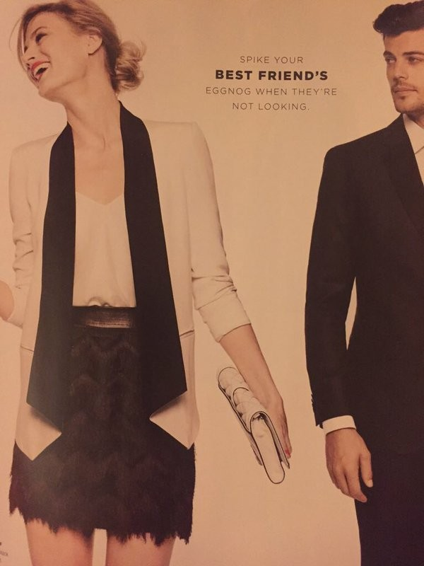 Bloomingdale's Apologizes For Date Rape Ad | Bloomingdale's