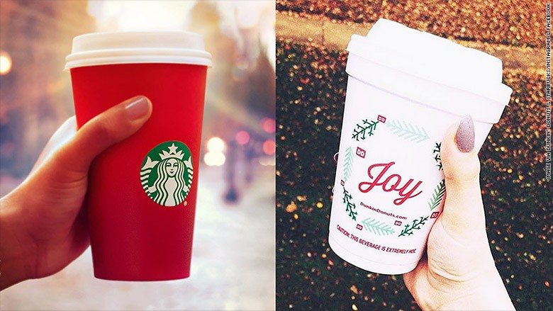 Dunkin Donuts Releases Holiday Cup! | Dunkin Donuts