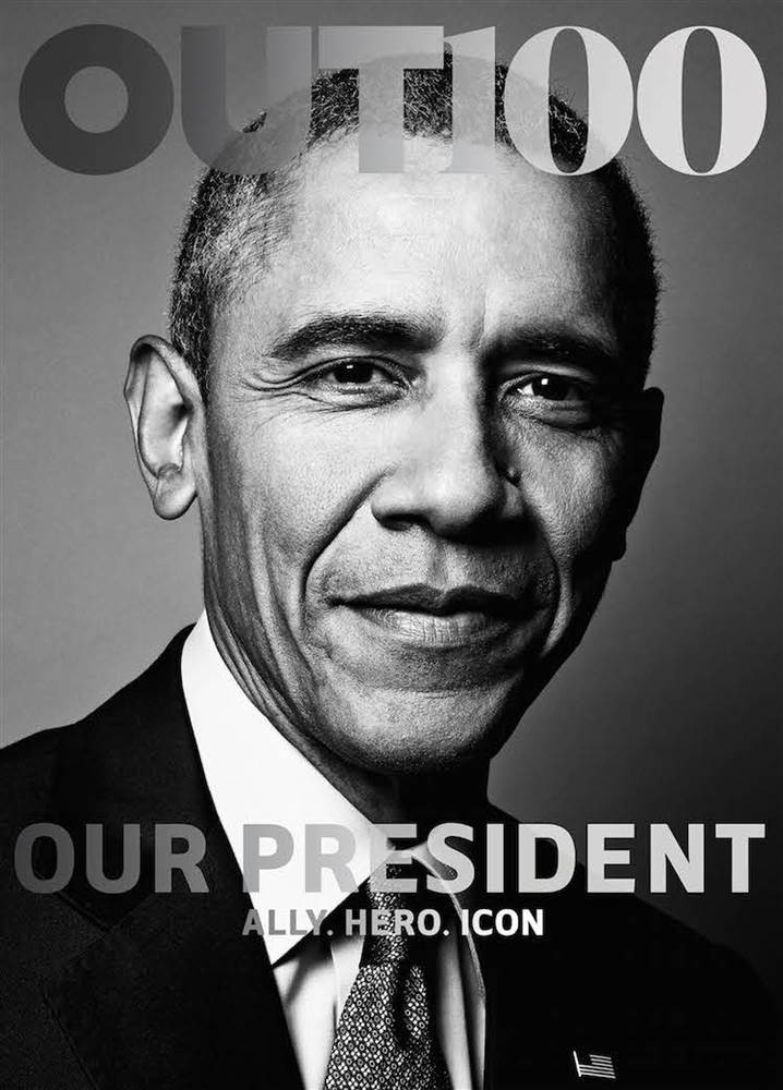 President Obama Becomes First Sitting President On LGBT Mag Cover | President Obama