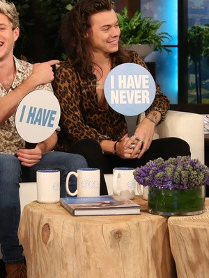 One Direction Reveal Their Dirty Details While Playing Never Have I Ever With Ellen Degeneres | One Direction