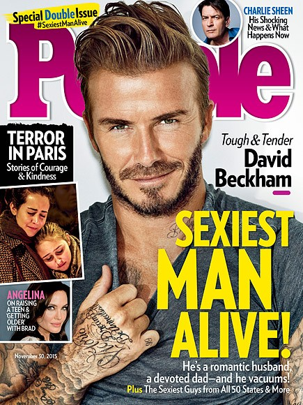 David Beckham Is The Sexiest Man Alive! | David Beckham