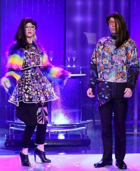 Jimmy Fallon And J-Law Perform Wacky Dance Skit On Tonight Show | Jimmy Fallon