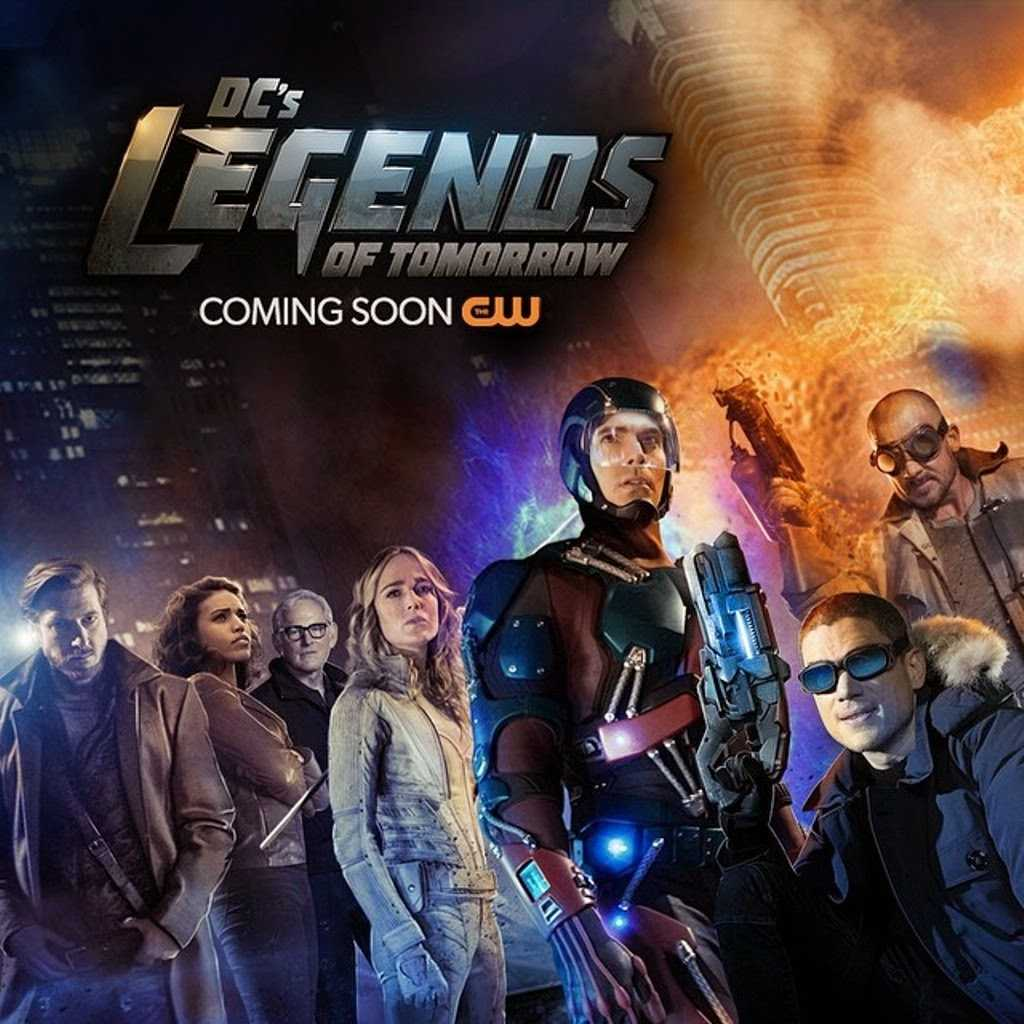 DC's Legends Of Tomorrow Trailer And Release Date Revealed | Legends of Tomorrow