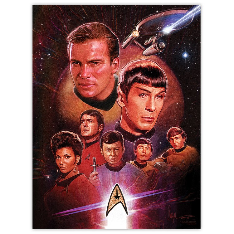 Bye Bye Robot Releases Six 'Star Trek' Posters | Star Trek