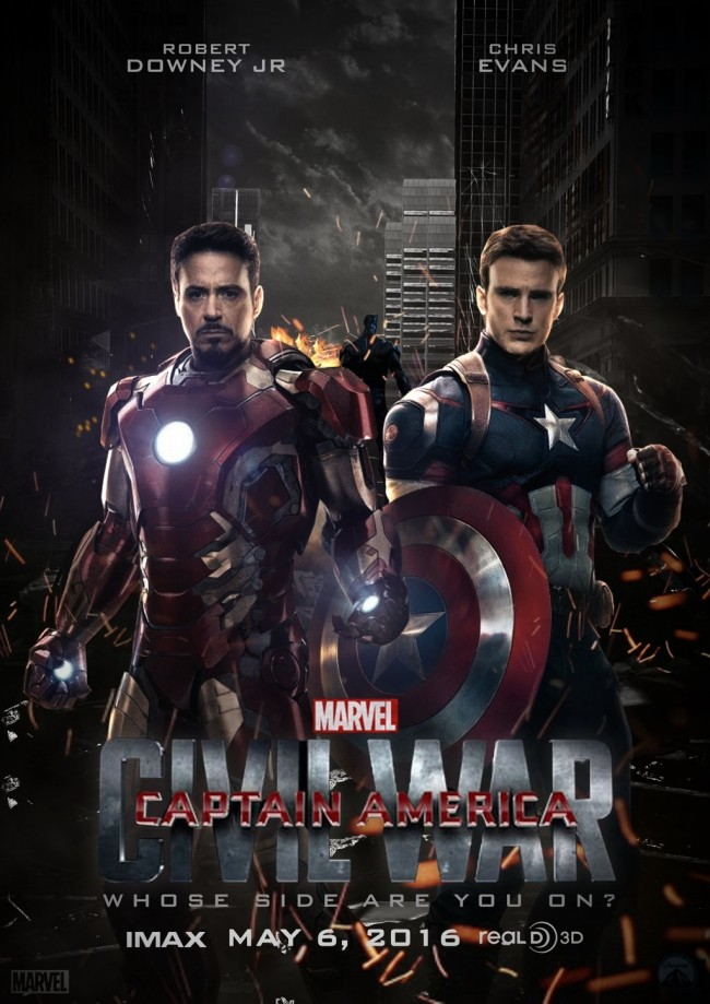 It's Evans Vs. Downey In First Captain America: Civil War Trailer | captain america