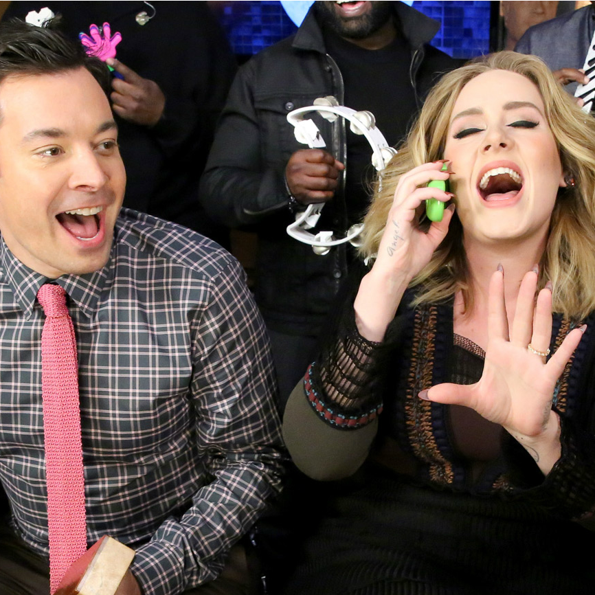 Adele Performs 'Hello' With Classroom Instruments On Fallon | Hello
