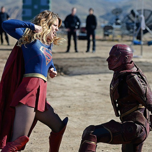 Supergirl: 01x06, Red Faced | Red Faced