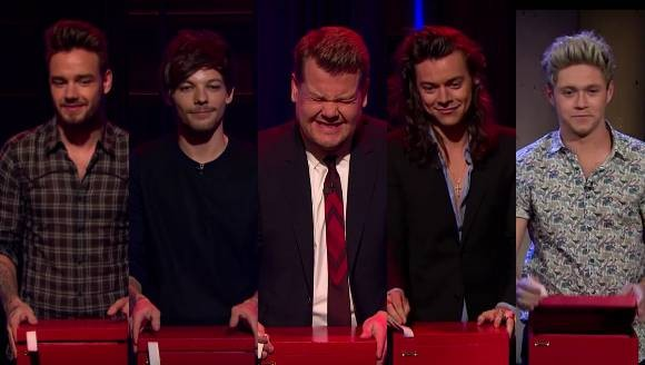 Which One Direction Member Lost Tattoo Roulette On The Late Late Show? | One Direction